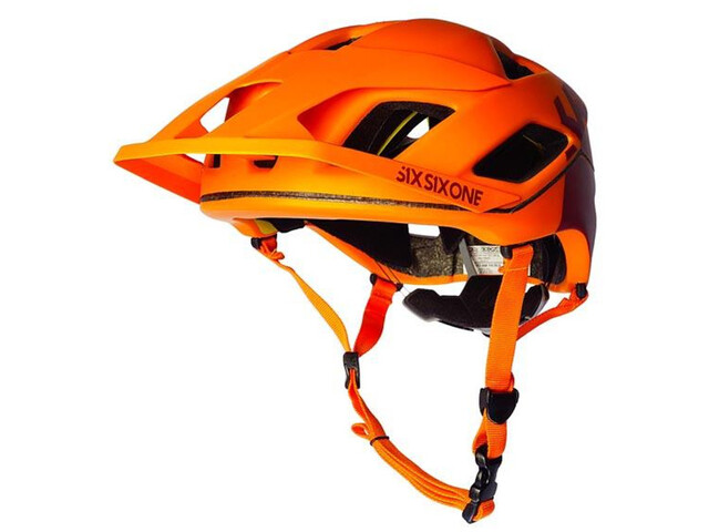 SixSixOne EVO AM Patrol Helmet autumn orange